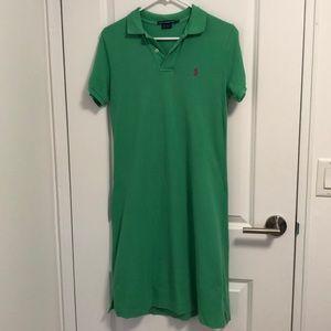 Polo t shirt dress. Size S